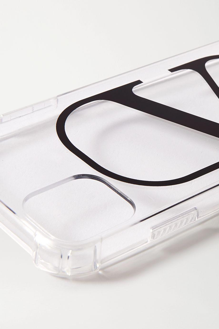 Valentino Printed Perspex iPhone 11 case