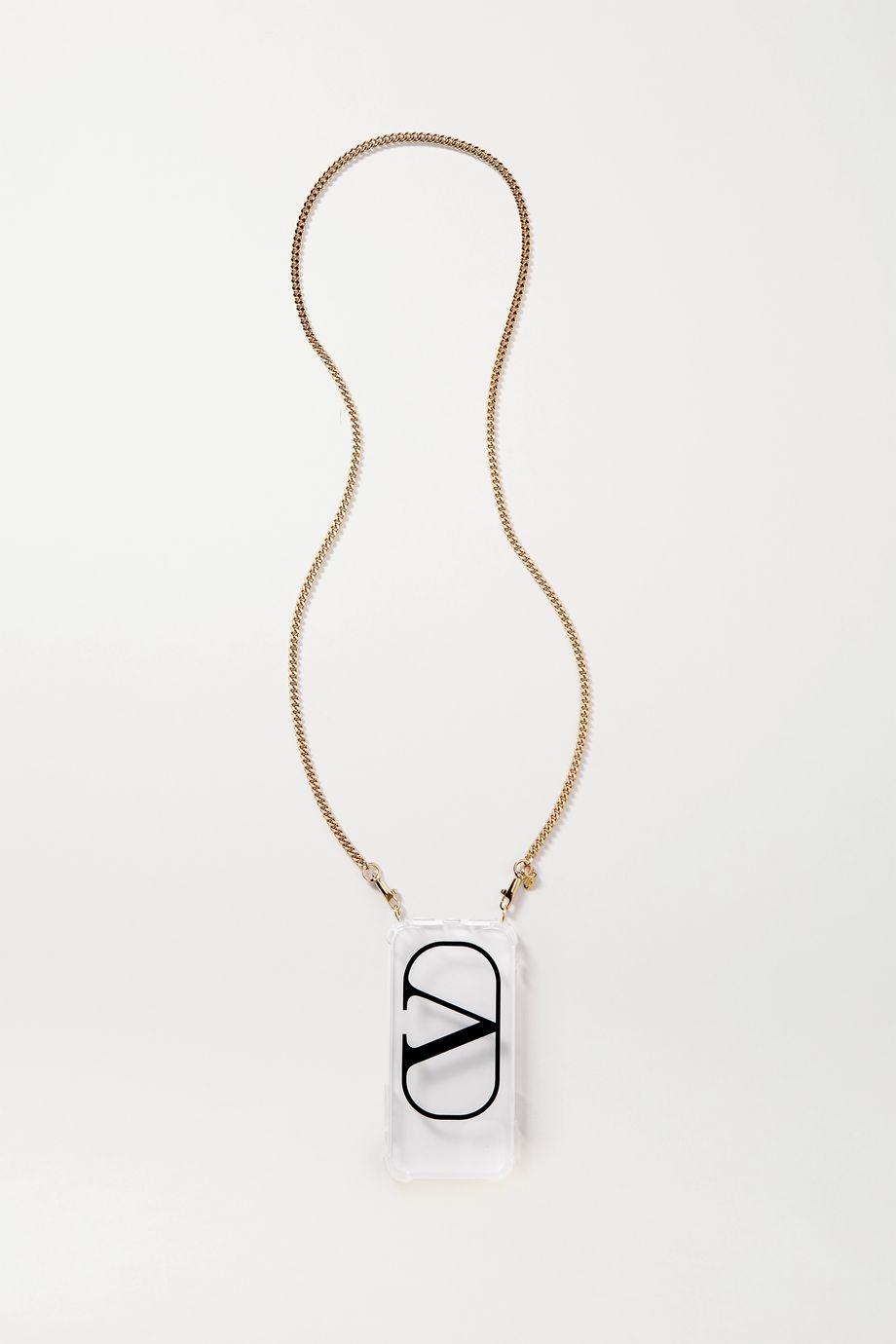 Valentino 印花有机玻璃 iPhone 11 保护壳