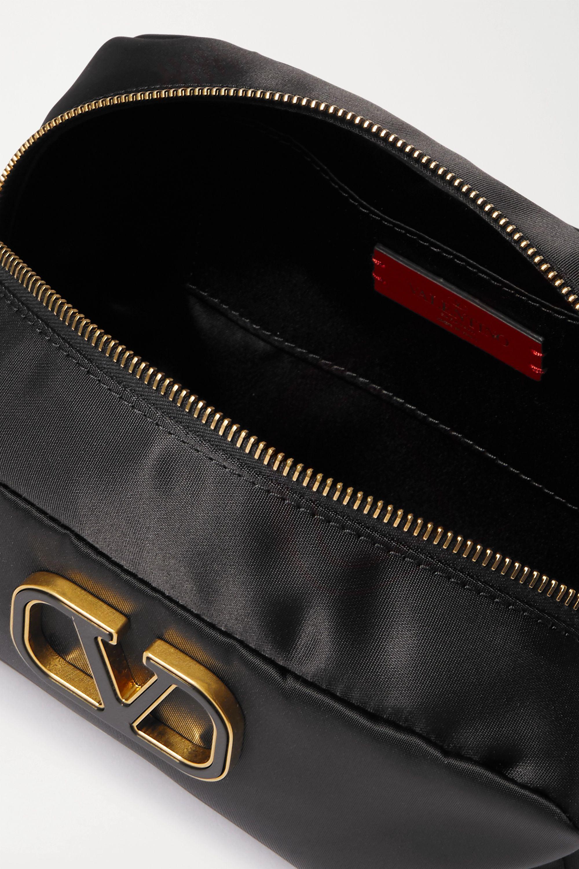 Valentino Valentino Garavani große Kosmetiktasche aus Nylon mit Verzierung