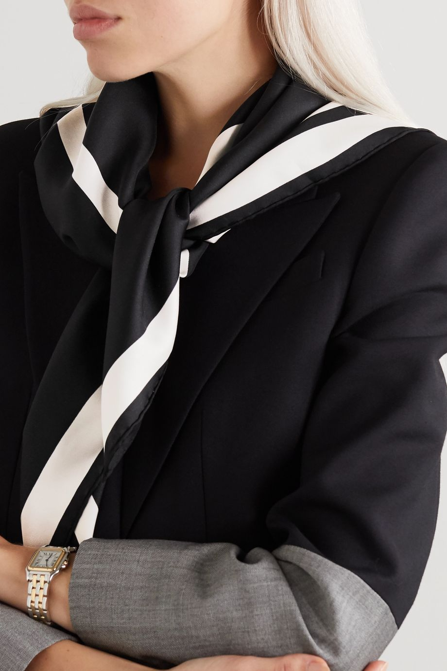 Valentino Valentino Garavani 印花真丝斜纹布围巾
