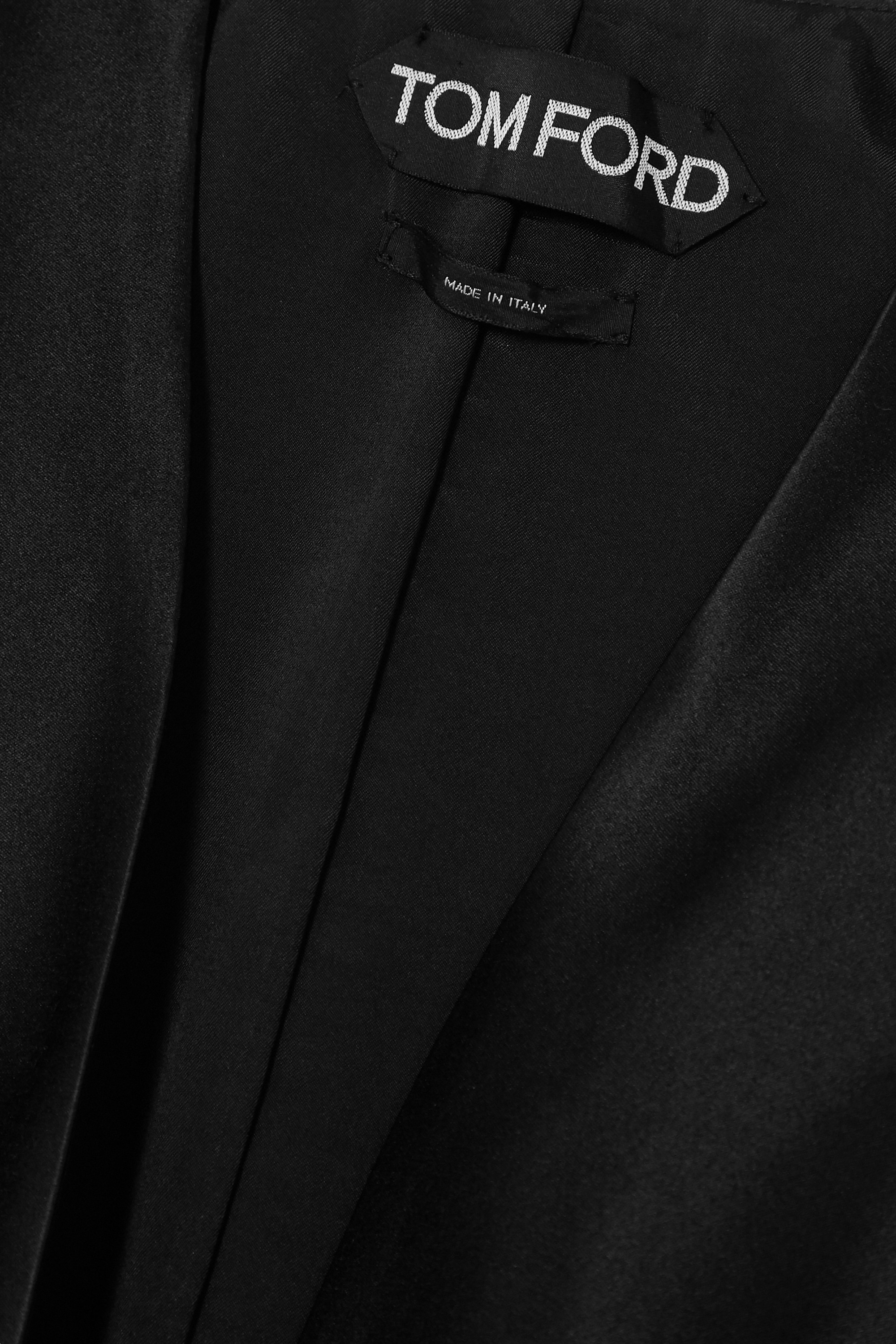 TOM FORD Duchesse silk-satin vest