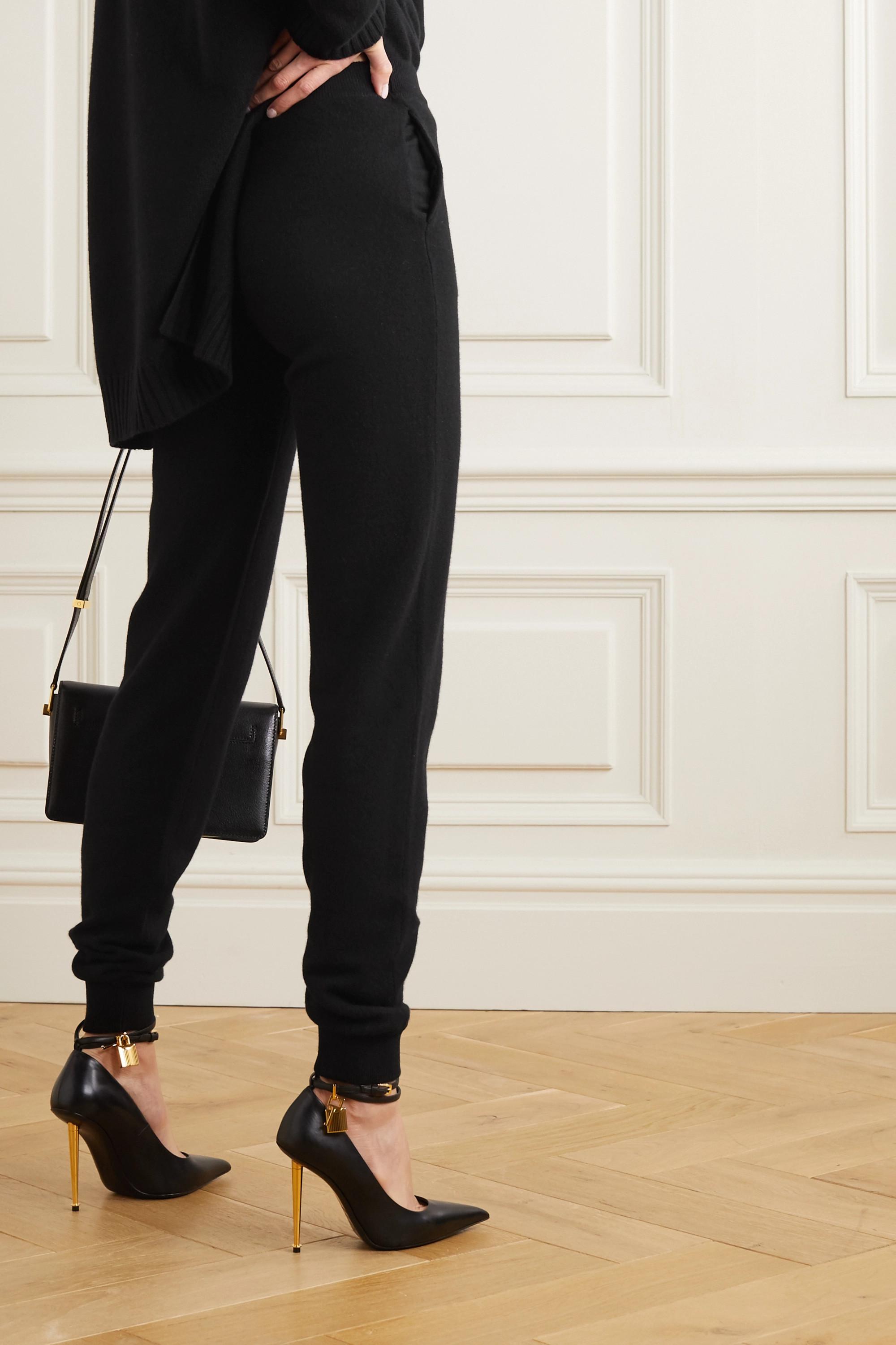 TOM FORD Cashmere-blend track pants