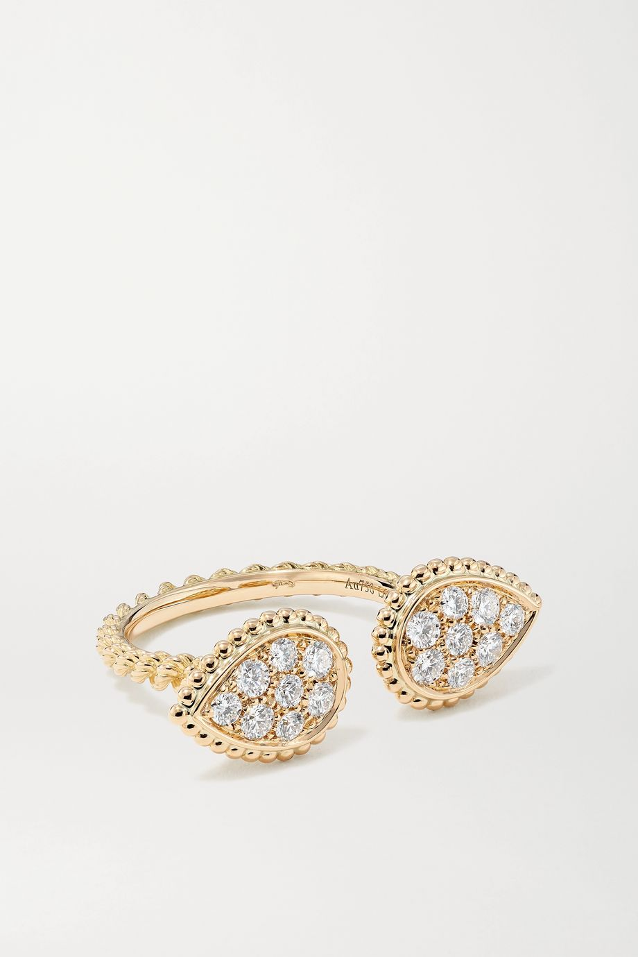 Boucheron Serpent Bohème 18-karat gold diamond ring
