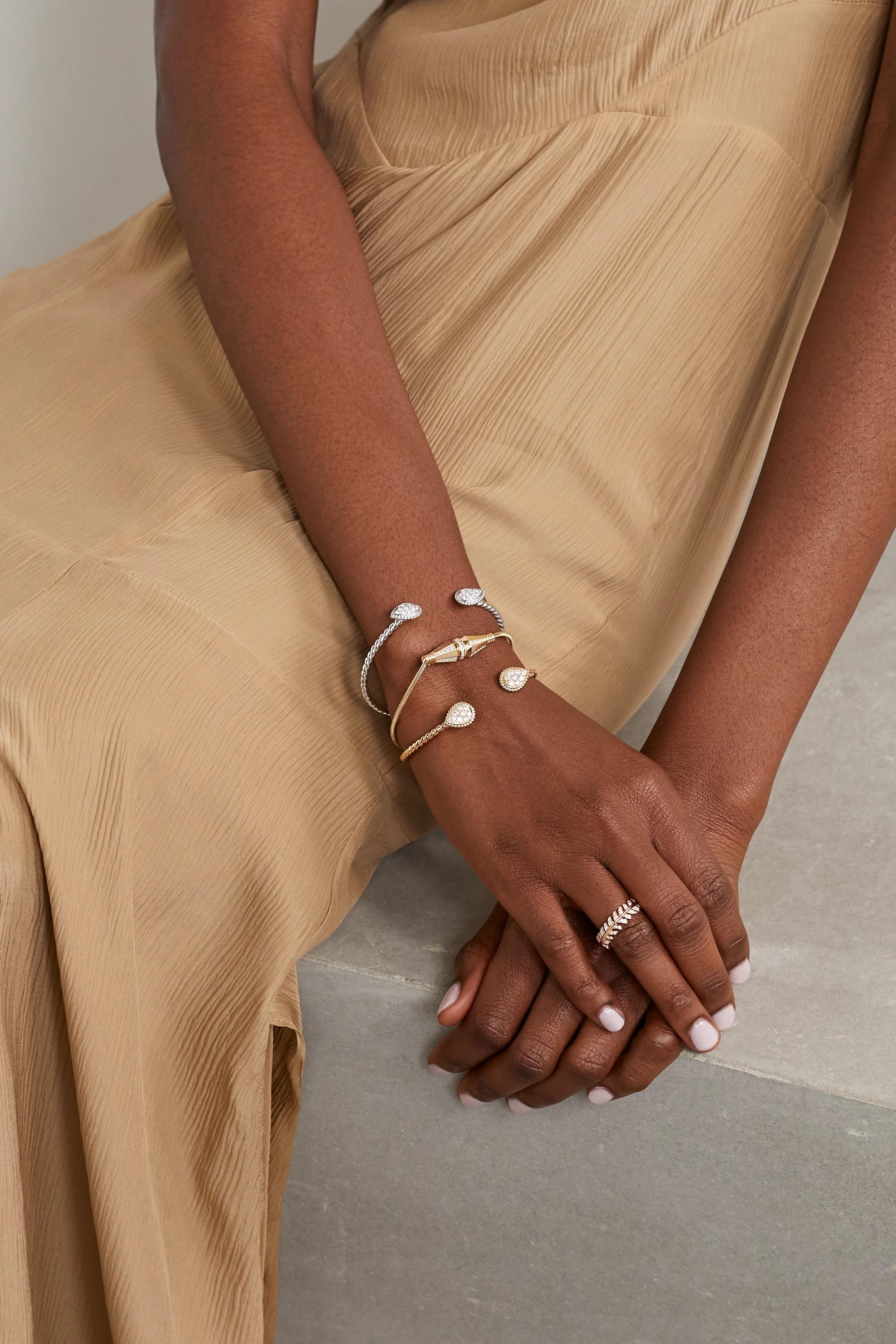 Boucheron Serpent Bohème Armspange aus 18 Karat Gold mit Diamanten