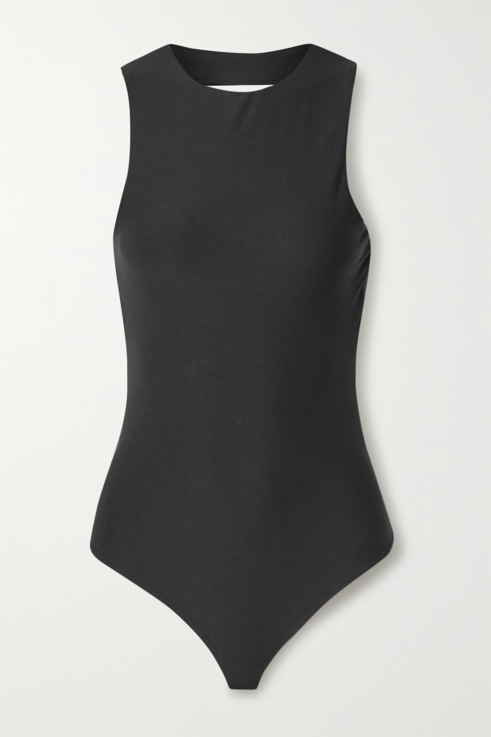 Alix NYC Chase open-back stretch-jersey thong bodysuit