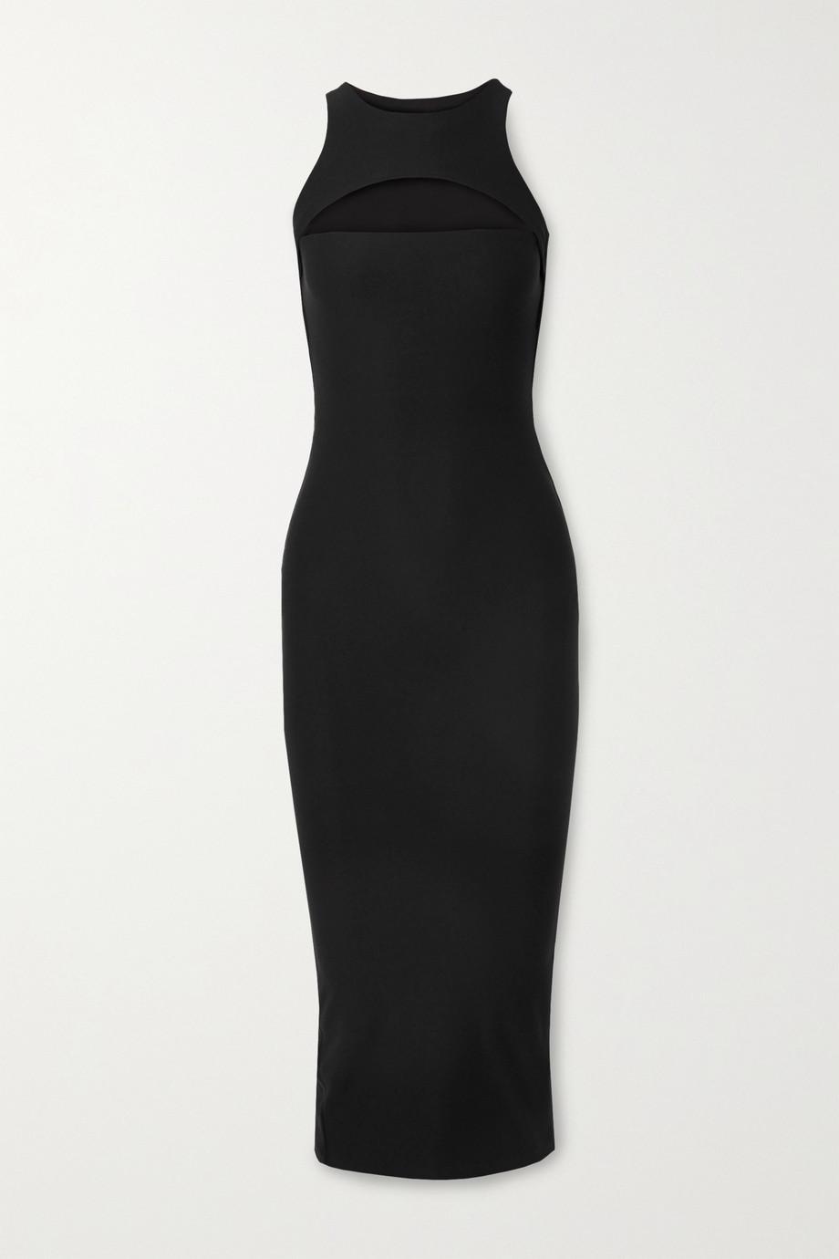Alix NYC Nostrand cutout stretch-jersey midi dress