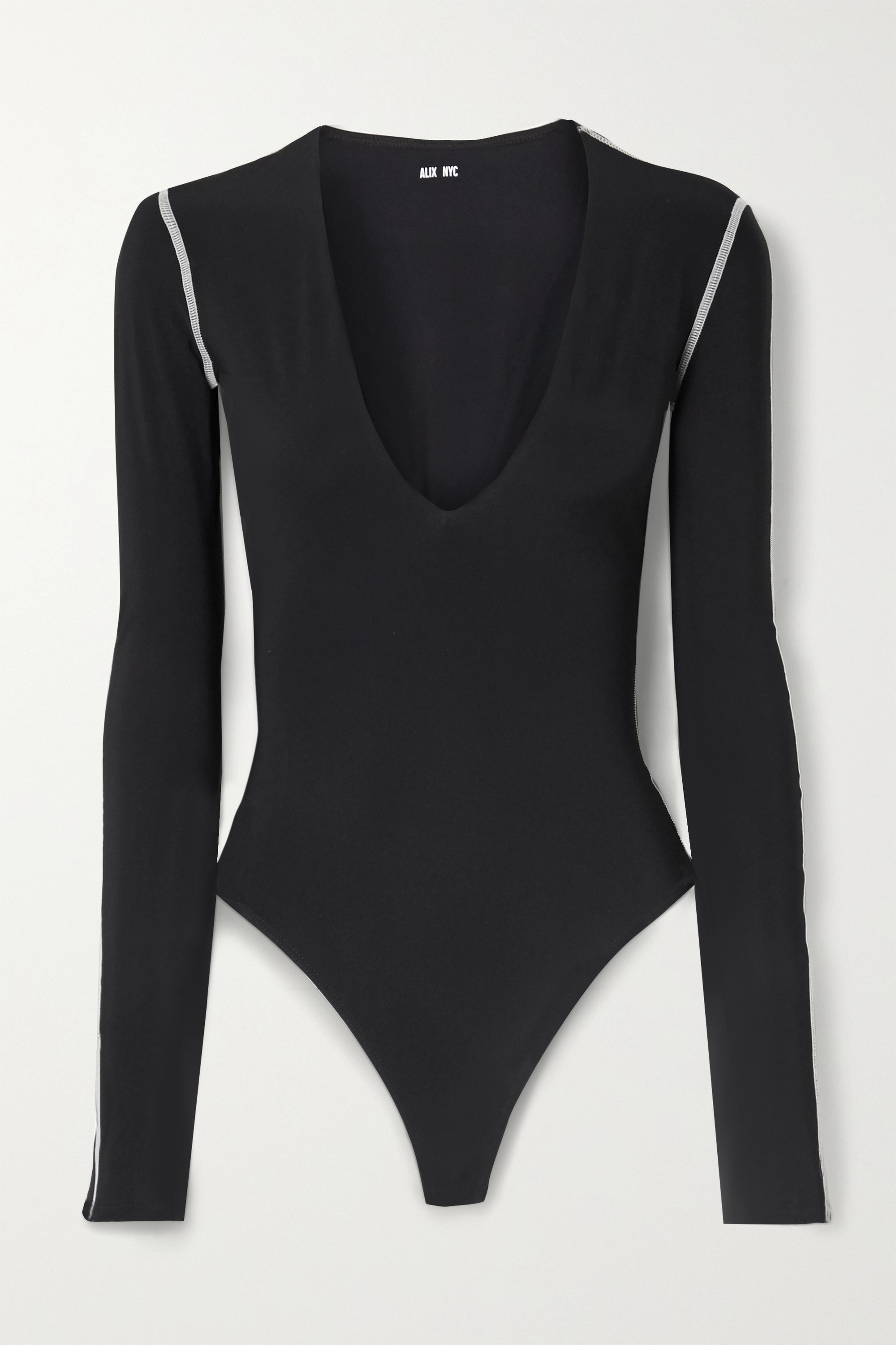 Alix NYC Irving stretch-jersey thong bodysuit