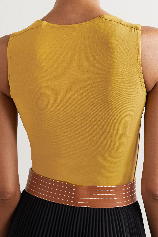Alix NYC Corbin stretch-jersey thong bodysuit