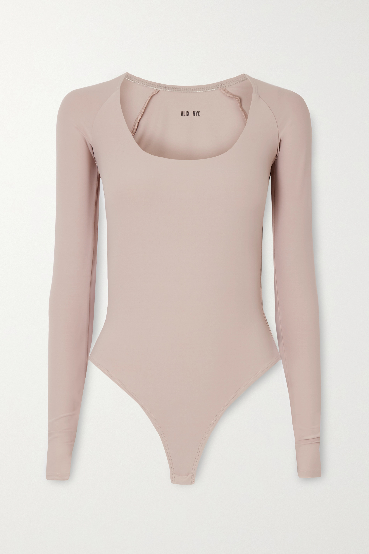 Alix NYC Sullivan stretch-jersey thong bodysuit