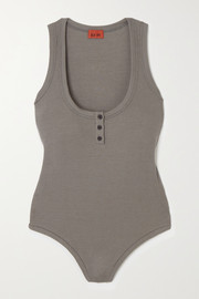 Alix NYC Willis ribbed stretch-modal bodysuit