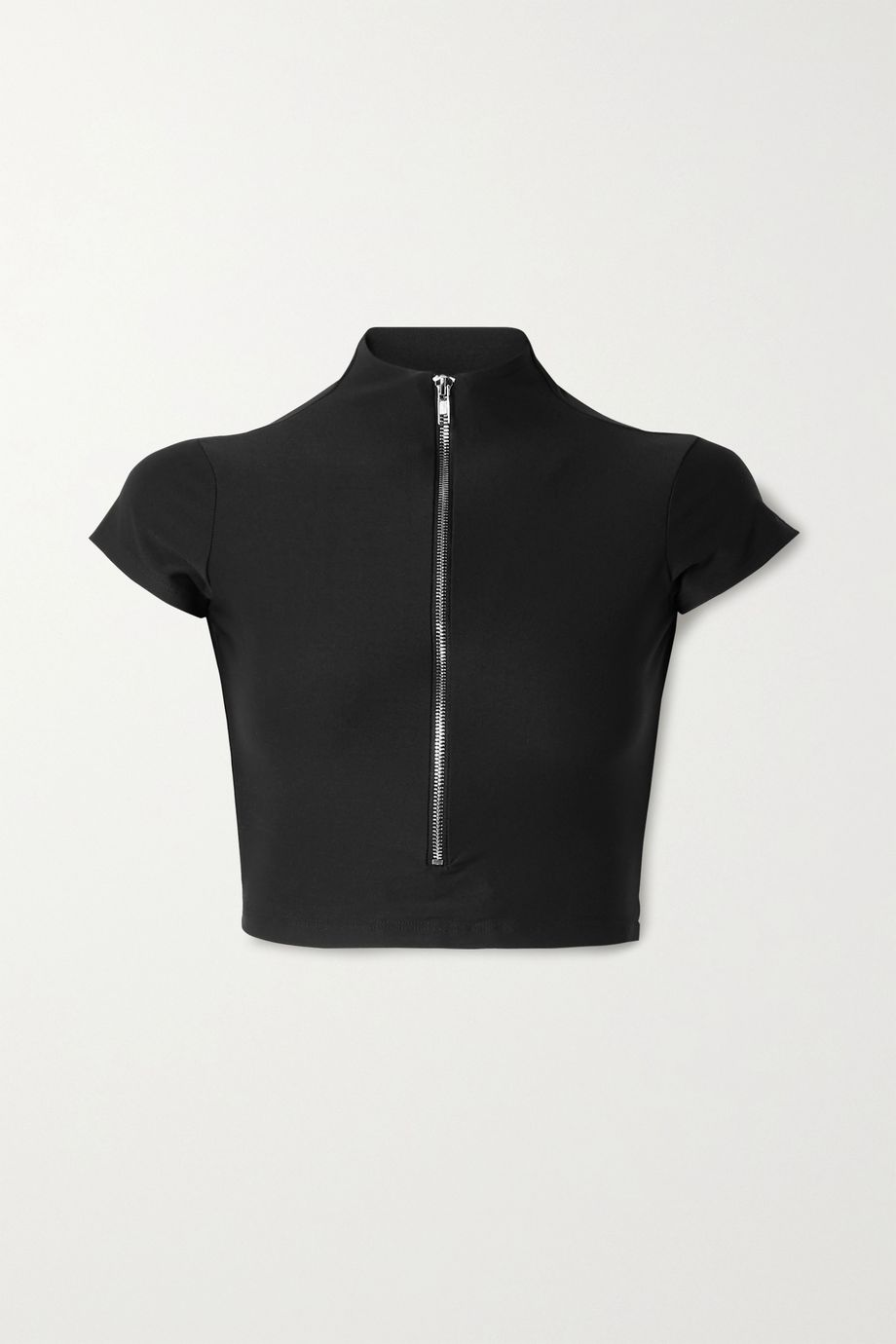 Alix NYC Charles cropped stretch-jersey top