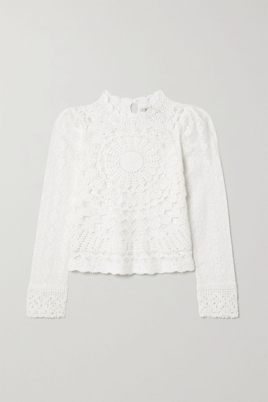 Sea Venice crocheted cotton top