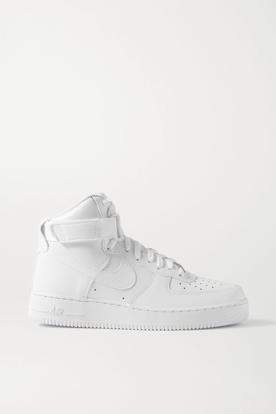 Nike Air Force 1 leather high-top sneakers