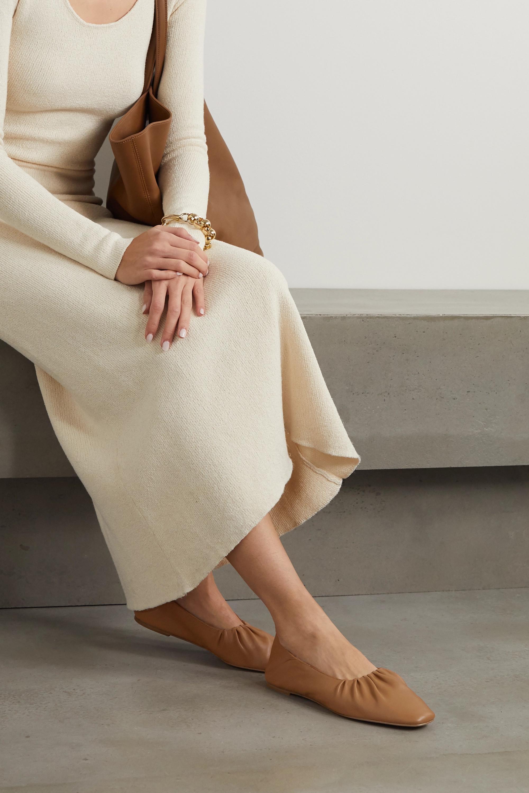 Vince Kali Ballerinas aus Leder