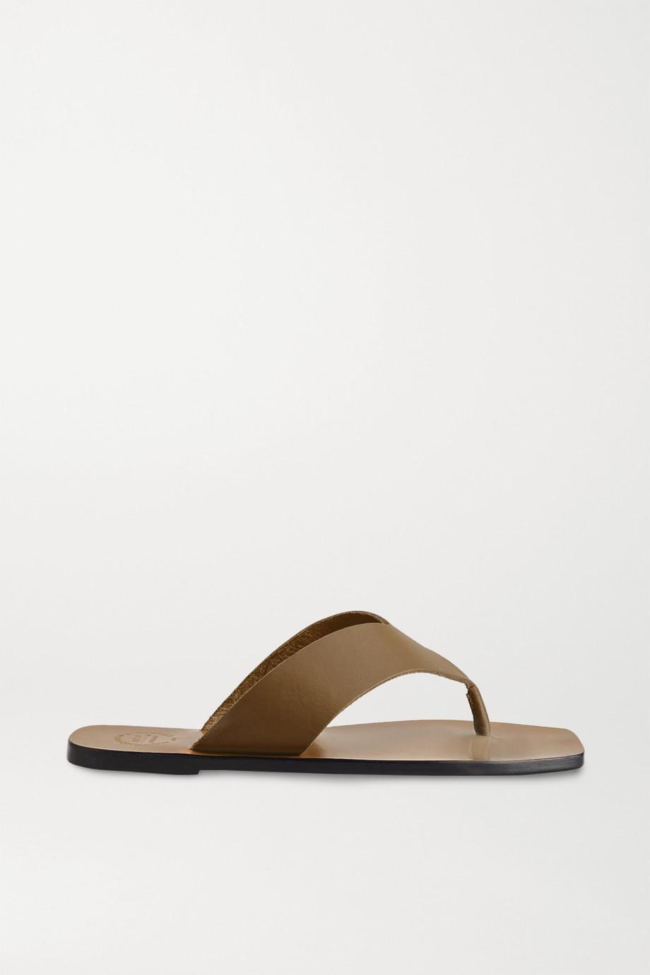 ATP Atelier Merine leather flip flops