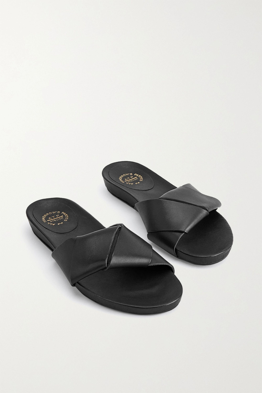 ATP Atelier Oria leather slides