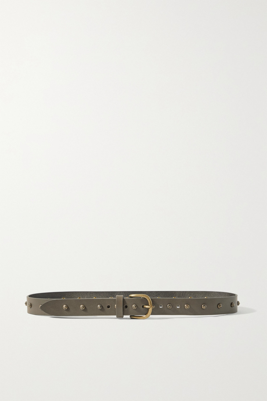 Isabel Marant Zalo studded leather belt