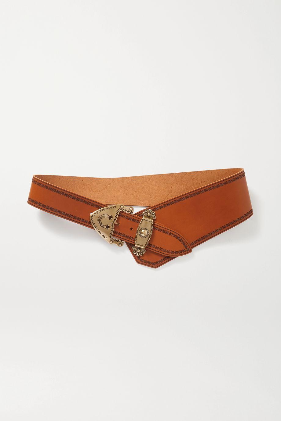 Isabel Marant Liko asymmetric leather belt