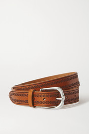 Isabel Marant Linna embossed leather belt