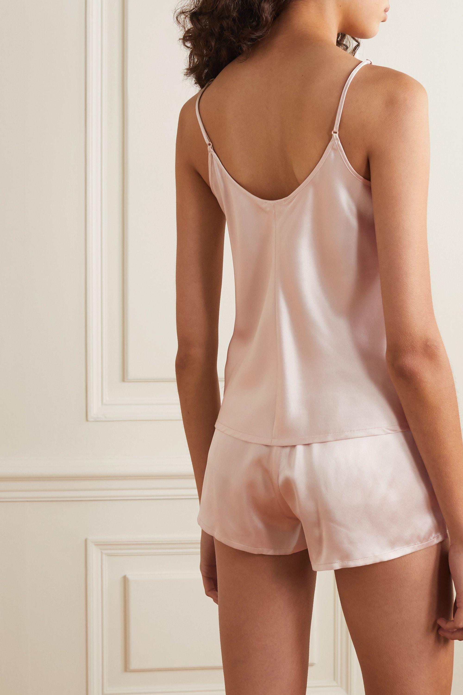 La Perla Pyjama aus Seidensatin