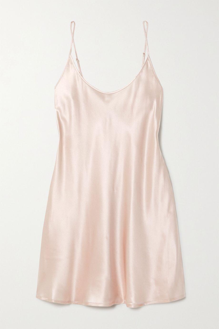 La Perla Silk-satin chemise