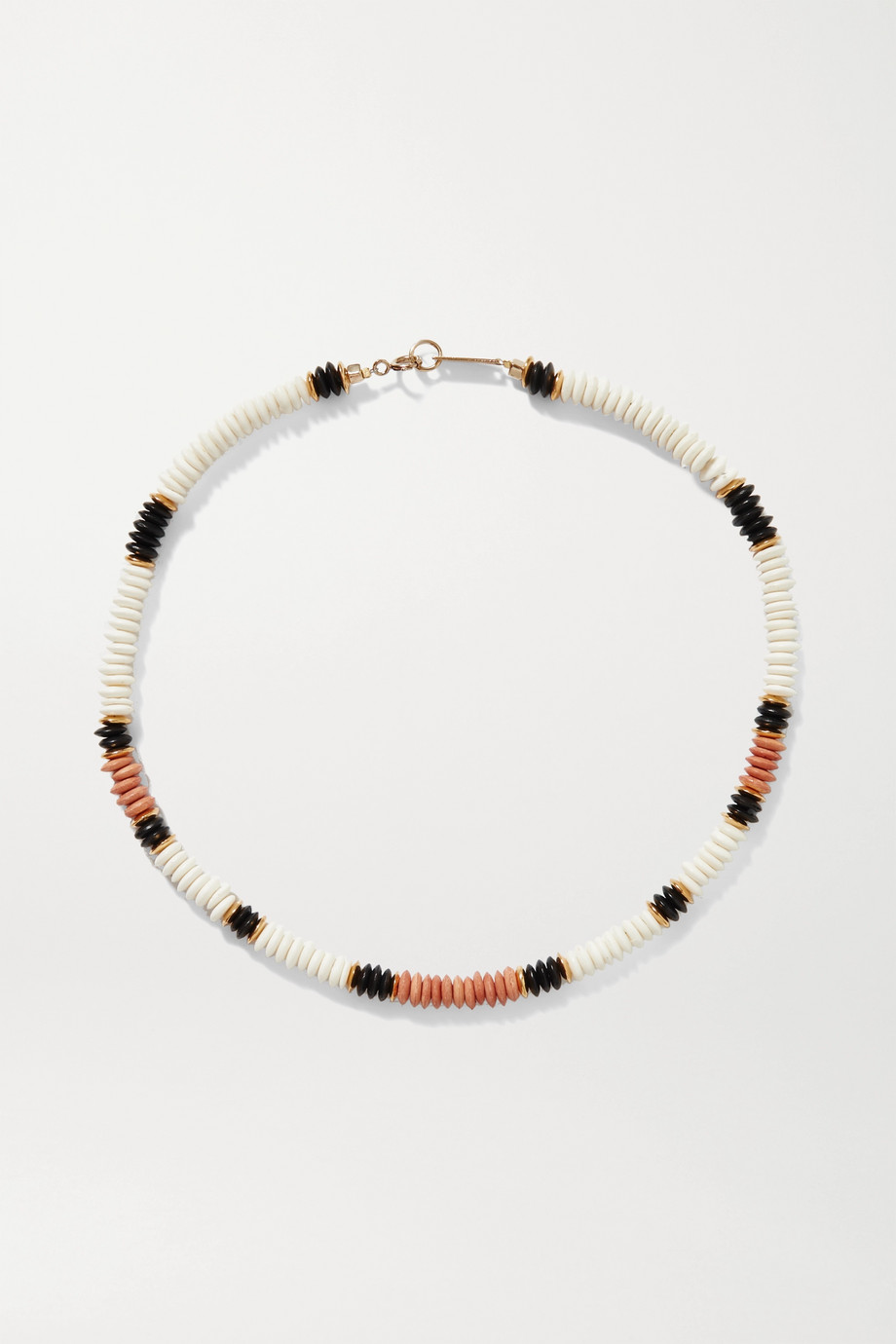 Isabel Marant Gold-tone bone necklace