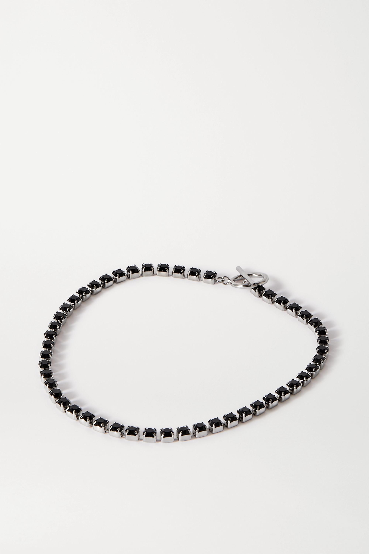 Isabel Marant Silver-tone crystal choker
