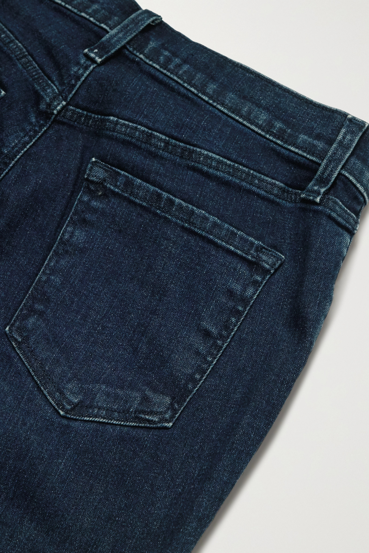 J Brand Jean skinny raccourci taille haute Alana
