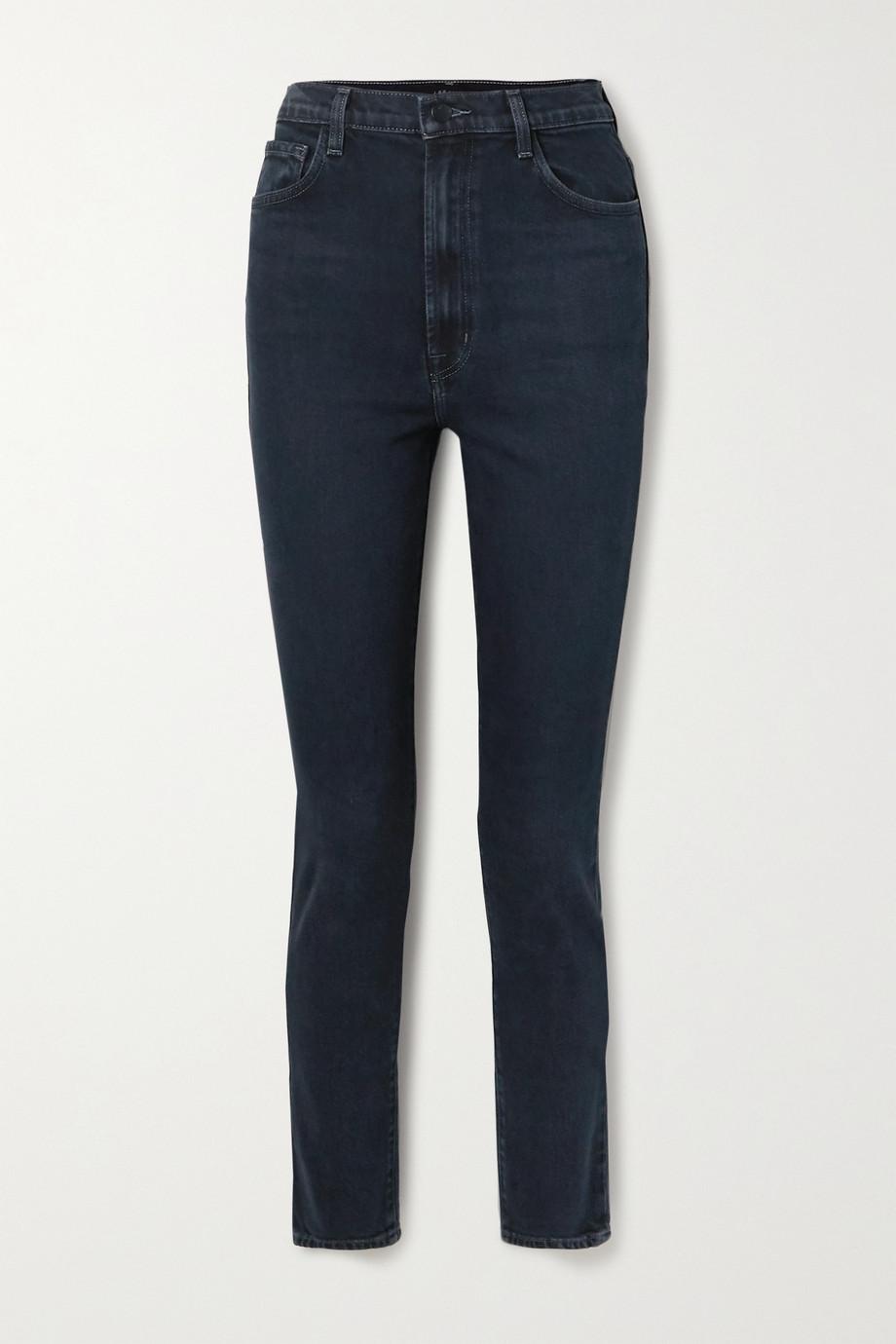 J Brand 1212 Runway hoch sitzende Jeans mit schmalem Bein