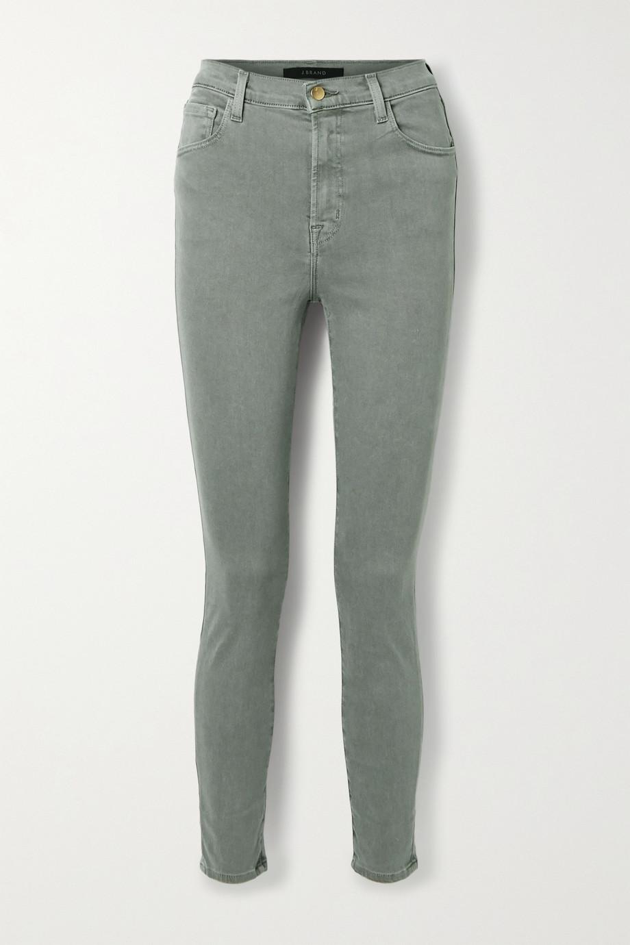 J Brand Jean skinny taille haute Leenah