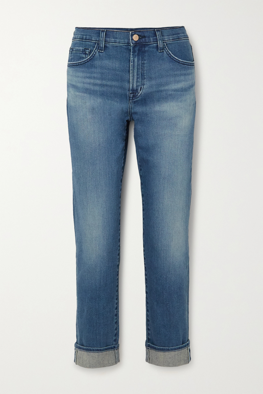 J Brand Tate Boyfriend-Jeans