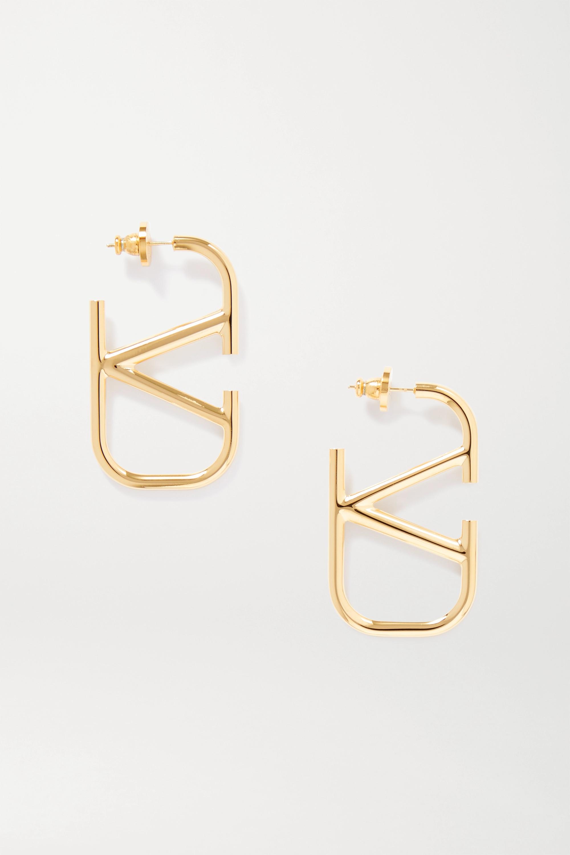 Valentino Valentino Garavani gold-tone earrings