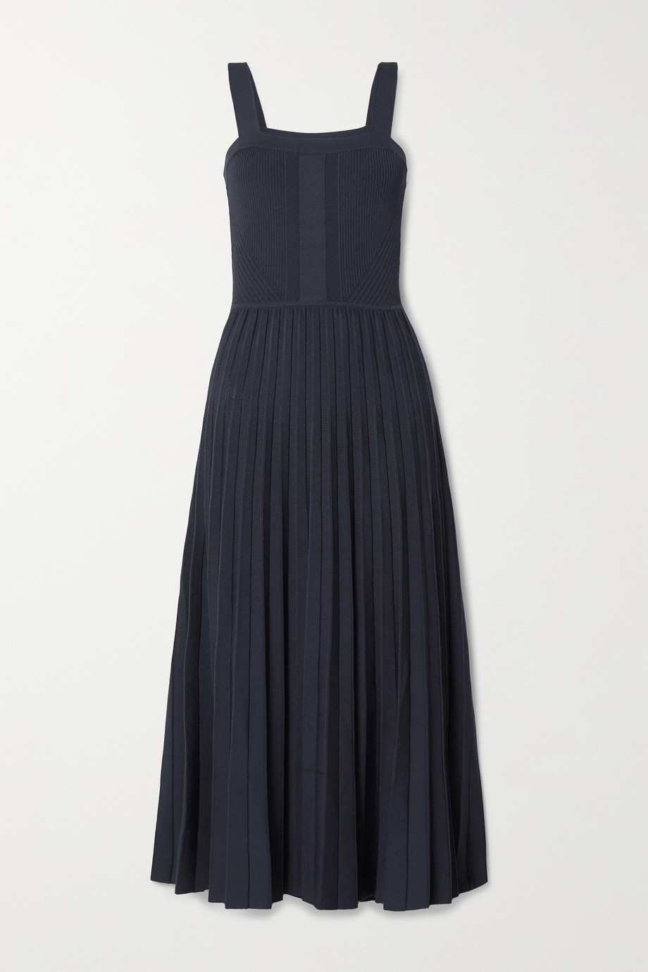 Jason Wu Collection 褶裥针织中长连衣裙