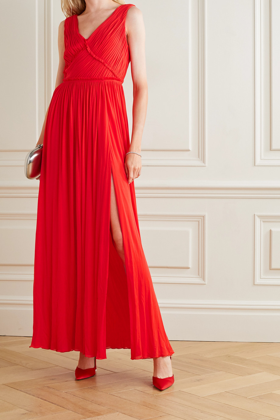 Jason Wu Collection Gathered stretch-jersey gown