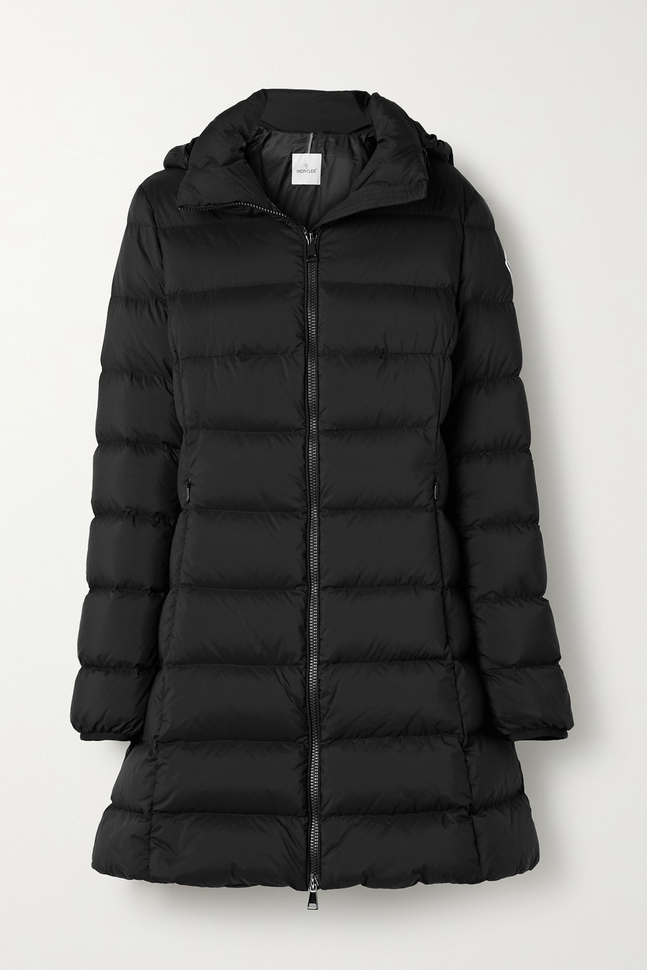 Moncler Gie hooded quilted shell down jacket