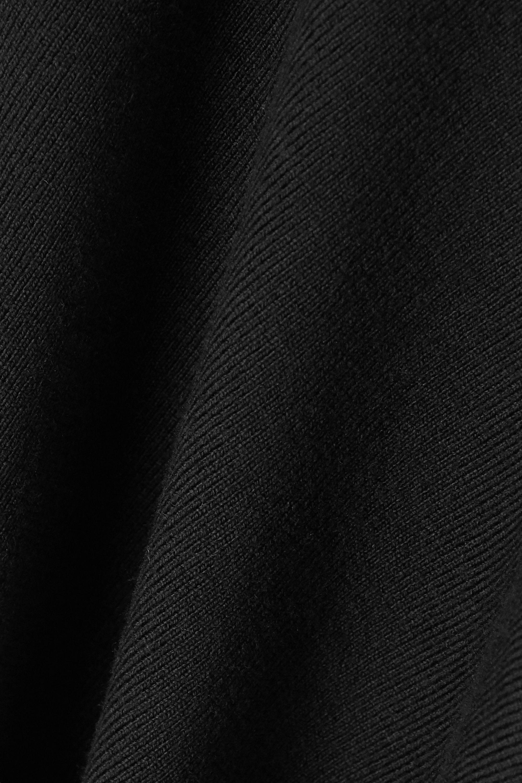 Monse Asymmetric cutout wool-blend sweater