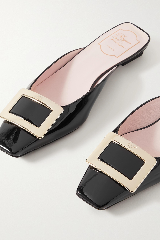 Roger Vivier Belle Vivier patent-leather mules