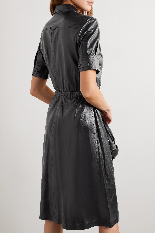 Altuzarra Robe-chemise en cuir Kura