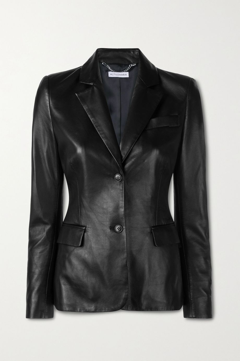 Altuzarra Egan leather blazer
