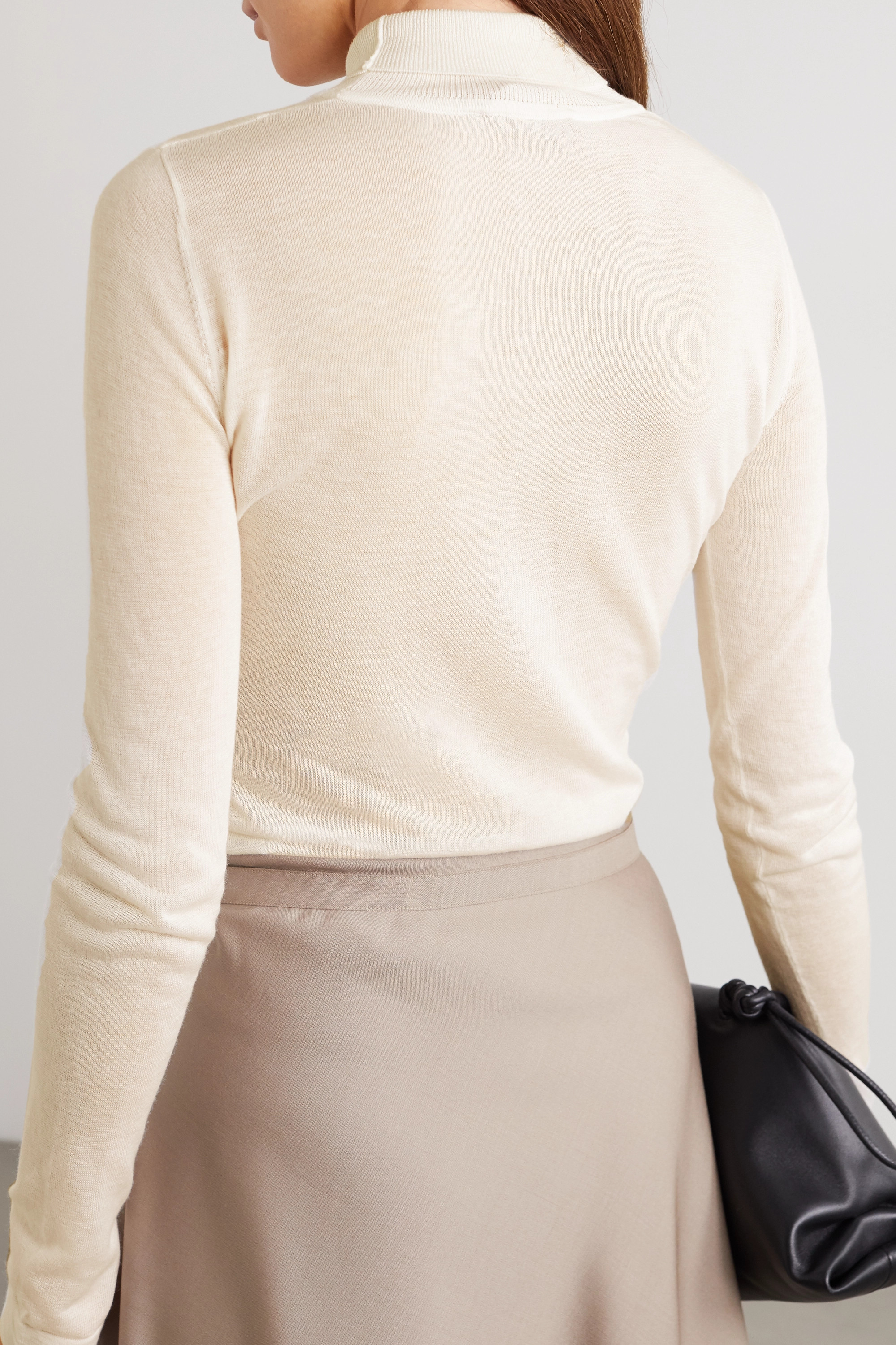 Altuzarra Reiko paneled knitted turtleneck sweater