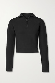 Altuzarra Rio cropped ribbed stretch-knit sweater