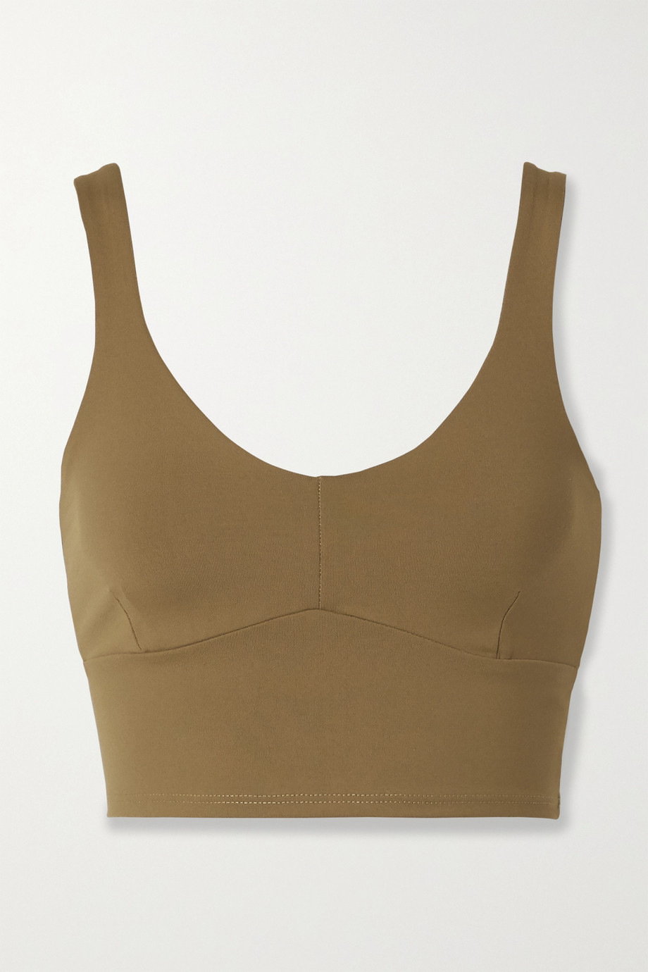 Live The Process Crystal stretch-Supplex sports bra
