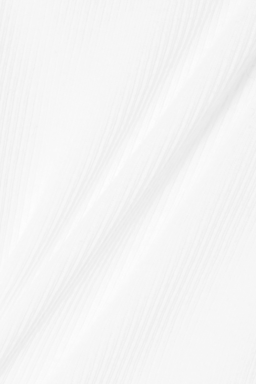 RE/DONE String-Body aus geripptem Baumwoll-Jersey