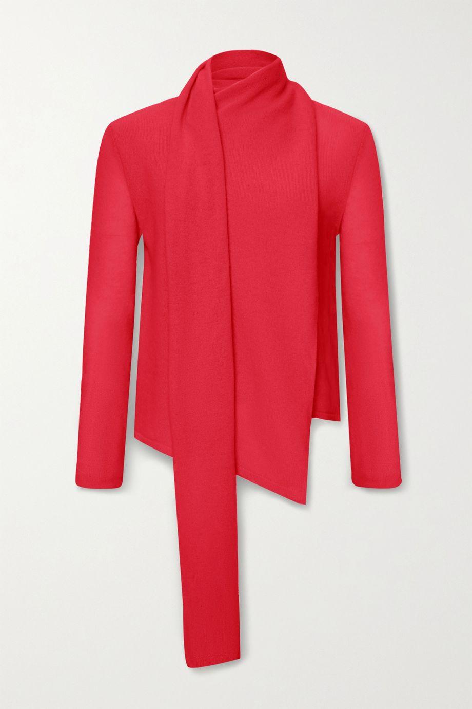 LAPOINTE Draped cashmere sweater