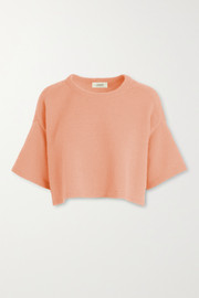 LAPOINTE Cropped cashmere sweater