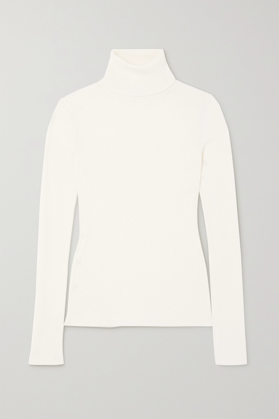 Salvatore Ferragamo Cashmere, wool and silk-blend turtleneck sweater