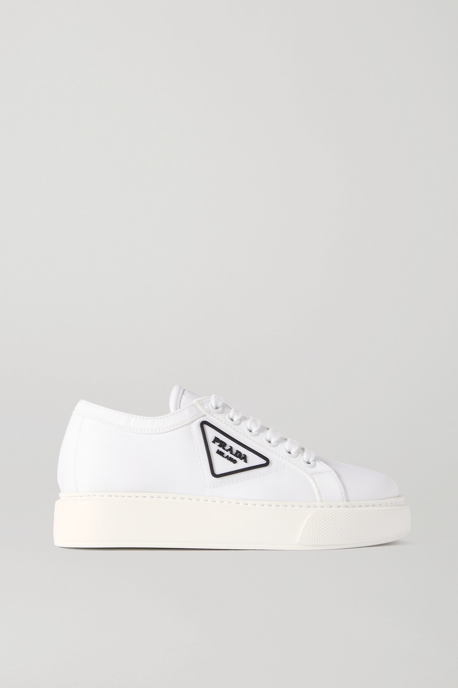 Prada Logo-detailed nylon sneakers