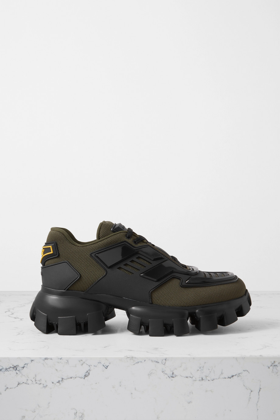 Prada Thunder mesh and rubber sneakers