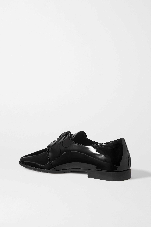 Black 15 Patent-leather Brogues | Prada