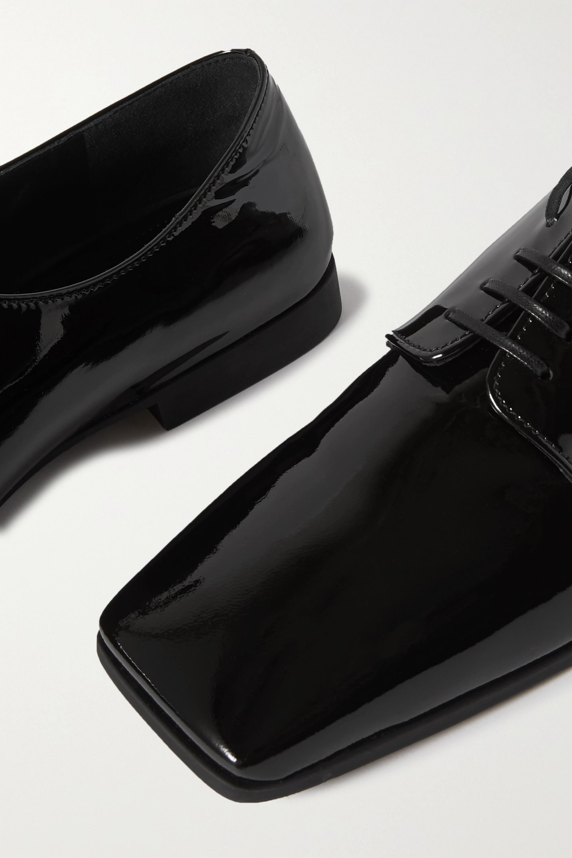 Prada 15 patent-leather brogues